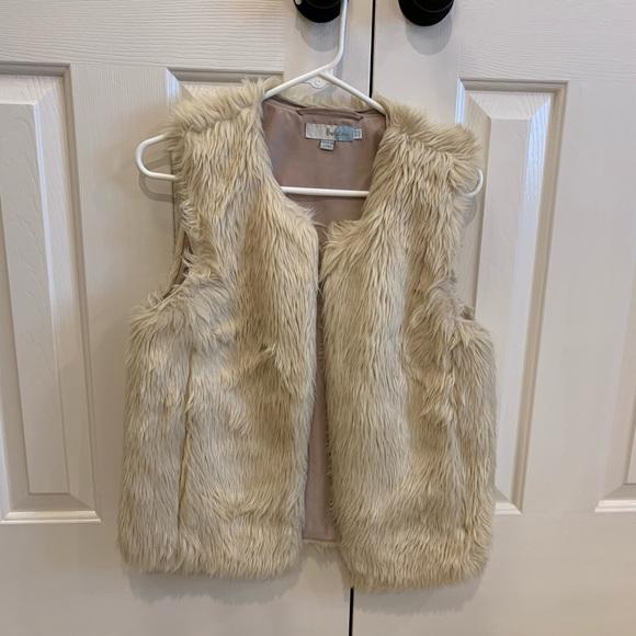 Boden Faux Fur Vest